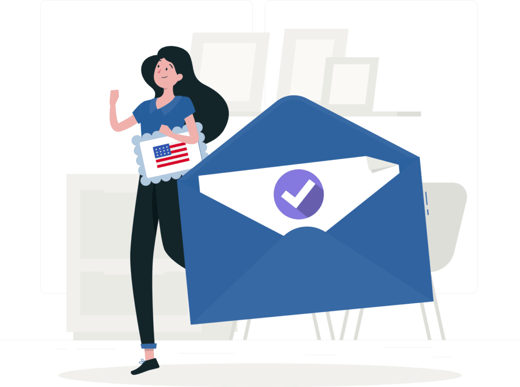 Vote by mail - how to vote election