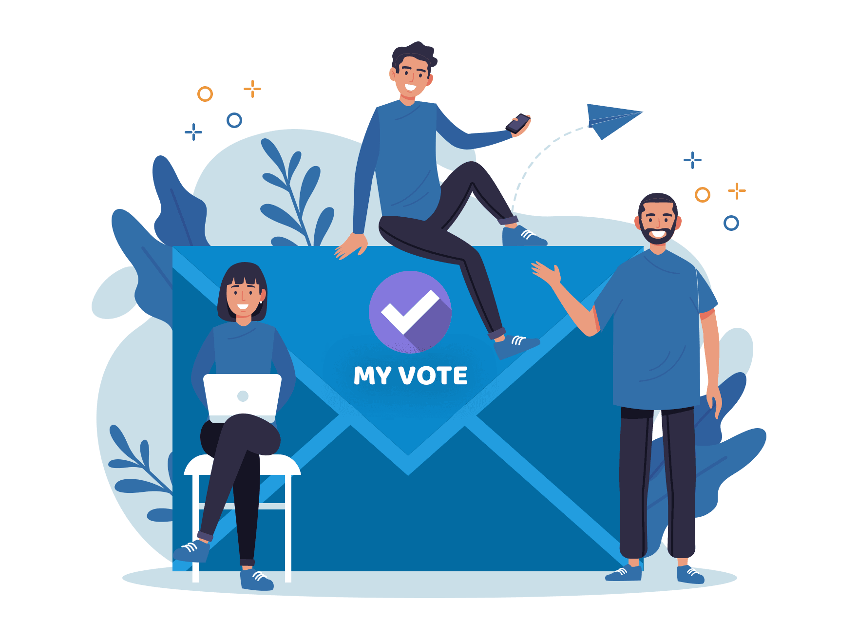 My Vote - How to vote by mail